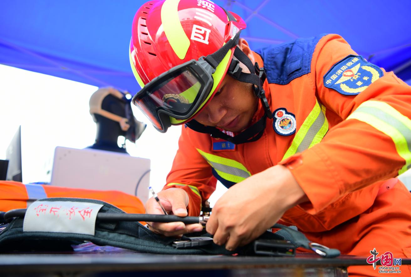 逆火英雄的坚实后盾——记德阳市消防救援支队特勤消防站舒雅林