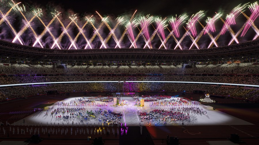 Tokyo Paralympic Games close in honor of a world where differences shine