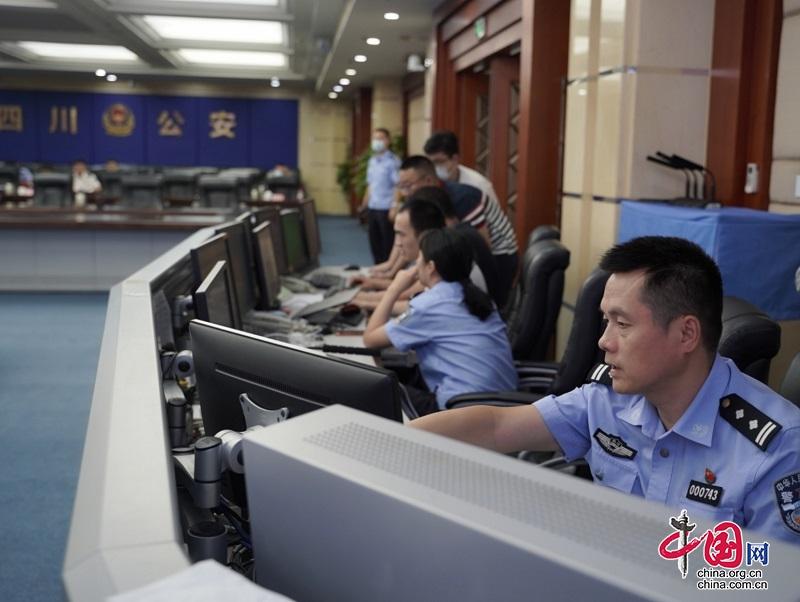 四川公安投入1200余名警力应对泸县地震抢险救援