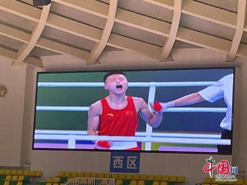 德阳小将钱茄豪获全运会男子57公斤级拳击铜牌