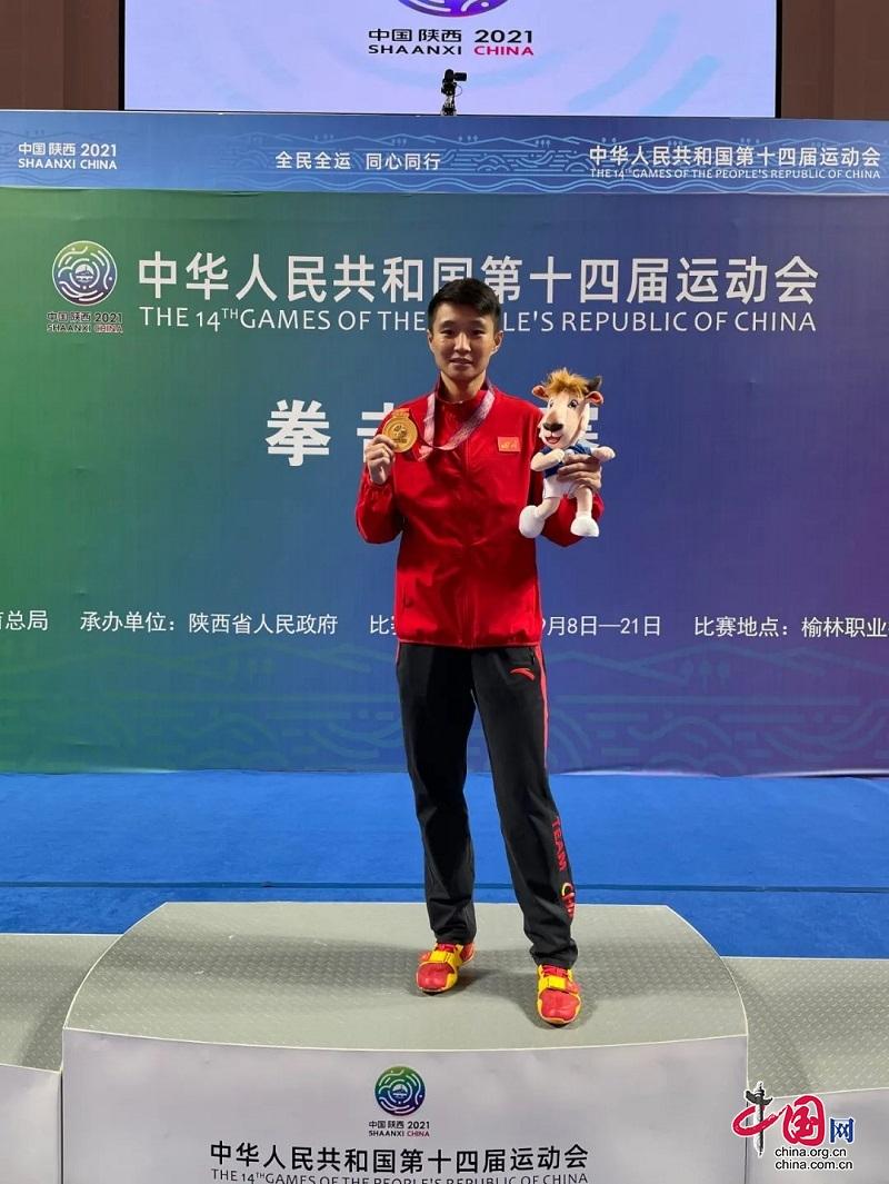 成功卫冕!德阳省市共建女子拳击队杨文璐获60公斤级金牌
