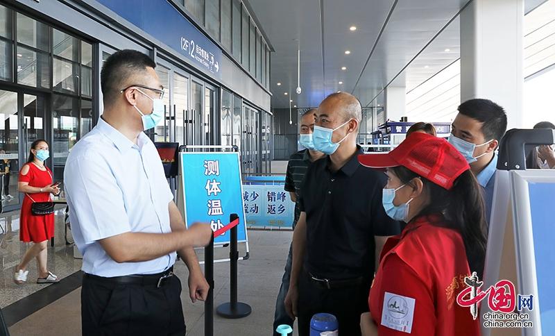 自贡沿滩:刘军督导检查节日期间疫情防控和安全生产工作