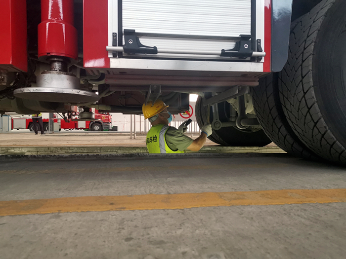 射洪市消防救援大队圆满完成2021年度车辆检测工作