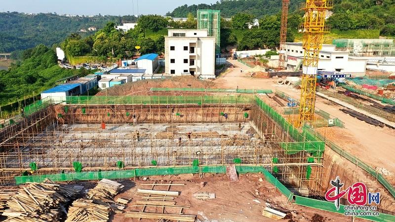《人民阅卷广安行动》 投资2.3亿的广安花园第二水厂预计明年上半年建成