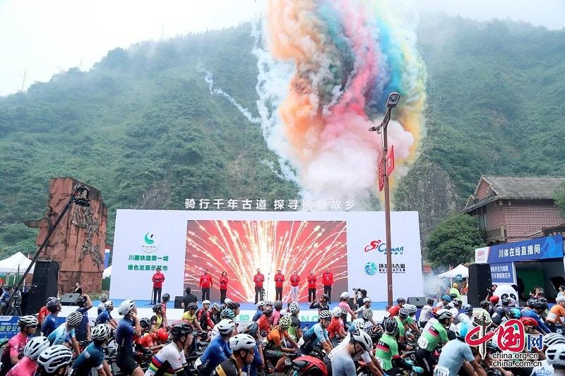 骑行熊猫老家,骑遍四川·2021年环茶马古道雅安公路自行车赛宝兴赛段圆满完赛