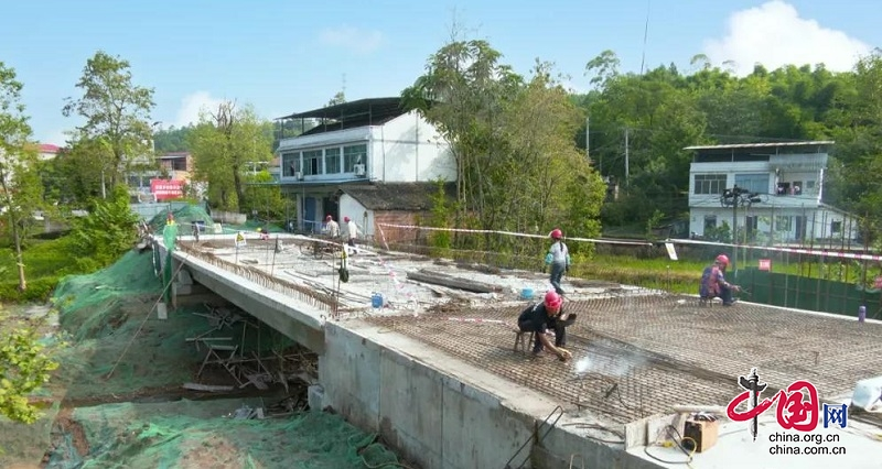 G212线胜利桥预计10月通车
