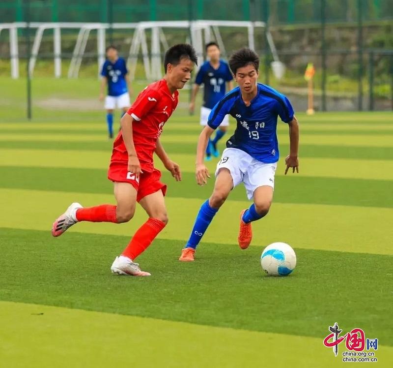 德阳奥校足球队斩获2021年四川省青少年U-17足球锦标赛男子组冠军