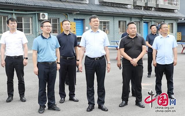 """熊隆东调研两项改革""""后半篇""""文章示范点位建设等工作"""