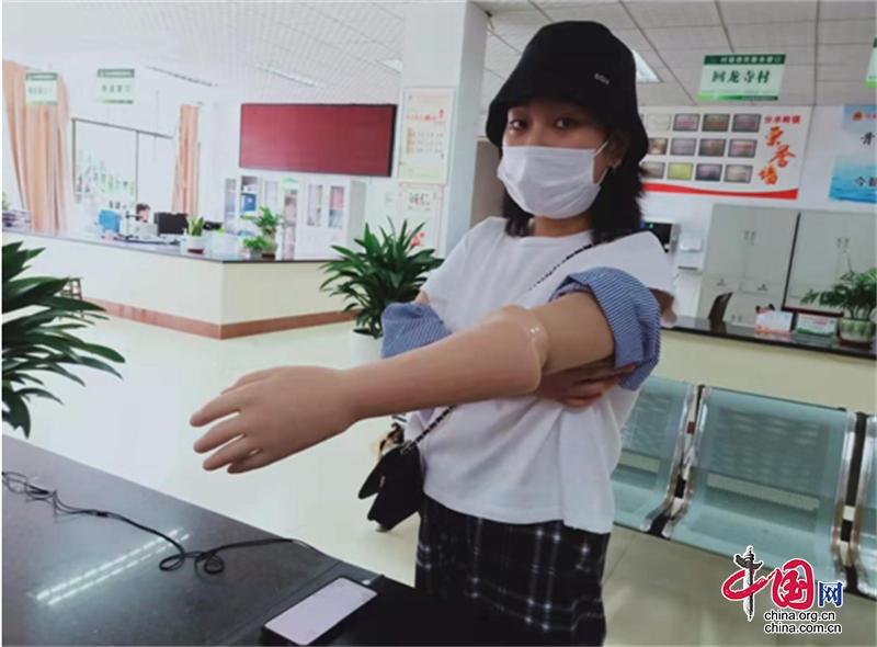 泸州市江阳区分水岭镇开展2021年残疾人辅具适配补助工作