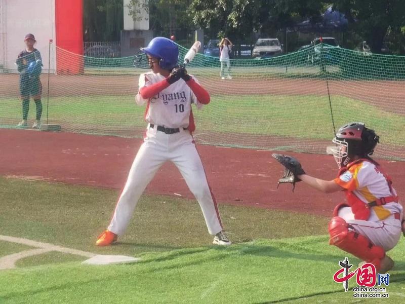 德阳垒球队获2021年四川省垒球锦标赛冠军
