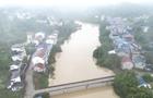 流量约21300立方米每秒 嘉陵江岳池段洪峰顺利过境