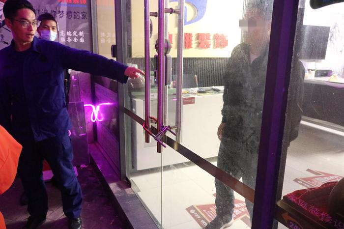 男子被锁店内 遂宁高新区政府专职消防队快速处置