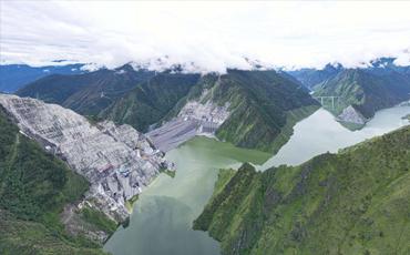 China's highest-altitude mega hydropower plant goes operational