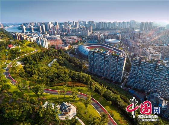 """成都简阳市入围""""2021中国西部百强县"""""""