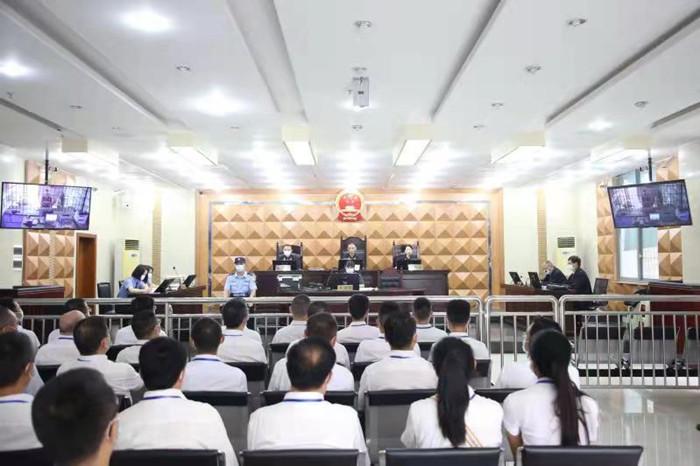 遂宁市国资系统干部在线旁听蓬溪法院公开庭审 零距离接受廉政警示教育