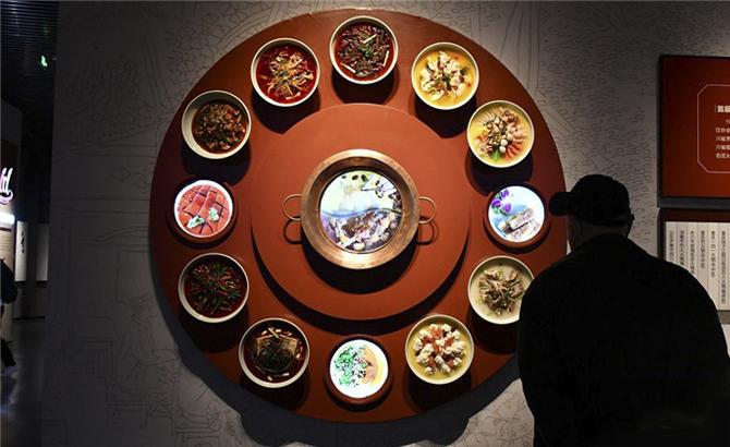 声、光、影、景全方位展示!走进中国川菜博览馆看川菜精彩故事
