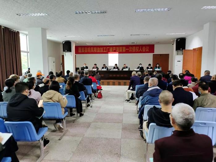 蓬溪两企业破产清算案第一次债权人会议顺利召开