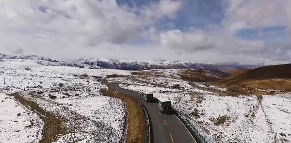 Snow Line Postal Route