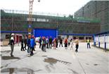 广汉市人民医院组织干部职工参观新建医院建设项目
