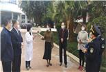 保障师生健康 广汉市人民医院指导学校疫情防控工作